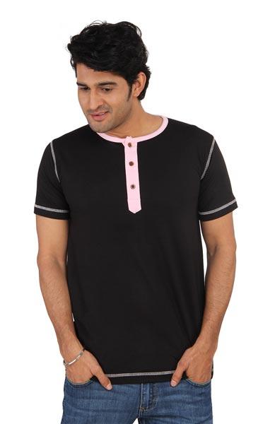 Mens Henley T-Shirt 03