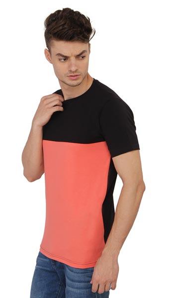 Mens Panel T-Shirt 01