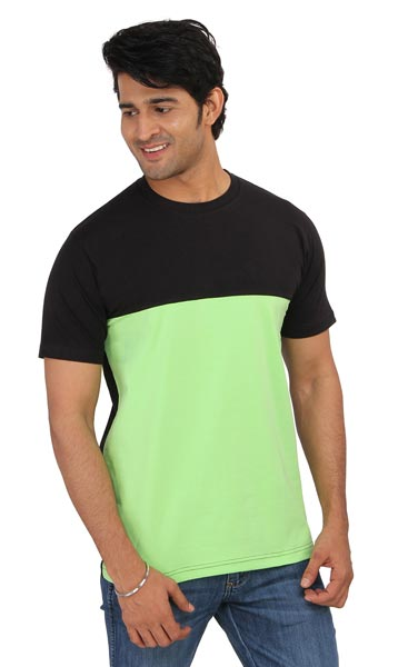 Mens Panel T-Shirt 03