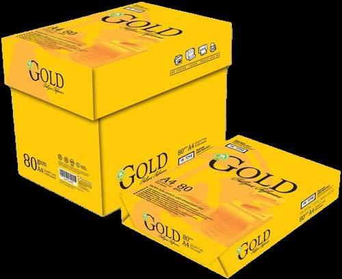 Gold A4 Size Copy Paper