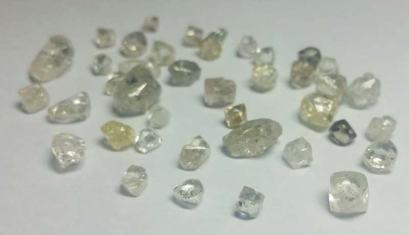 Rough Uncut Diamonds - 02