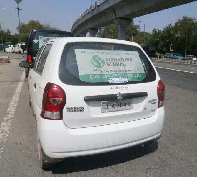 Car Mesh Advertising 02