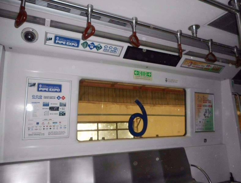 Indoor Metro Advertising
