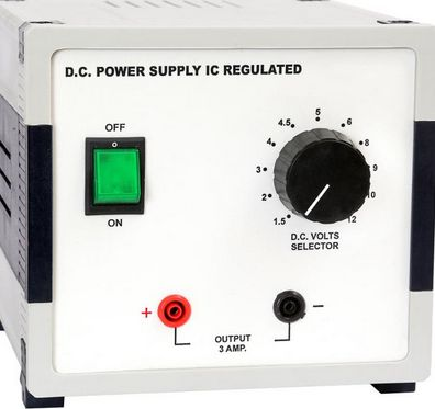 IC Regulated DC Power Supply