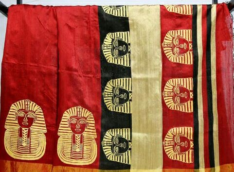 Hand Painted Sarees 04