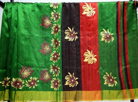 Hand Painted Sarees 05