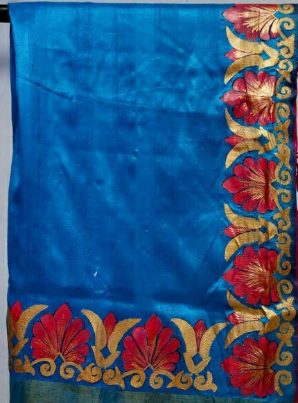 Hand Painted Sarees 08