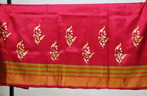 Hand Painted Sarees 09