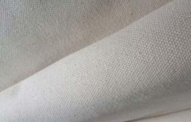 Grey Cotton Canvas Fabric