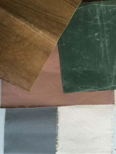 Waxed Canvas Bag Fabric