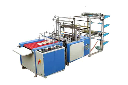 Double Dacker Sealing and Cutting Machine