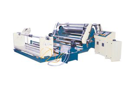 Fabric Roll Slitting Rewinding Machine