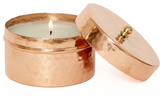 Copper Candle Holders 04