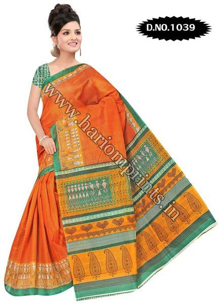 Bhagalpuri Cotton Saree