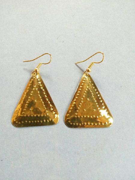 Brass Earrings 02