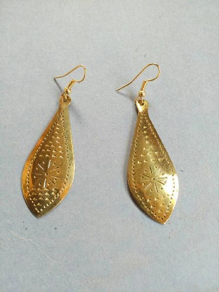 Brass Earrings 03