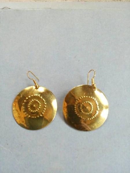 Brass Earrings 04