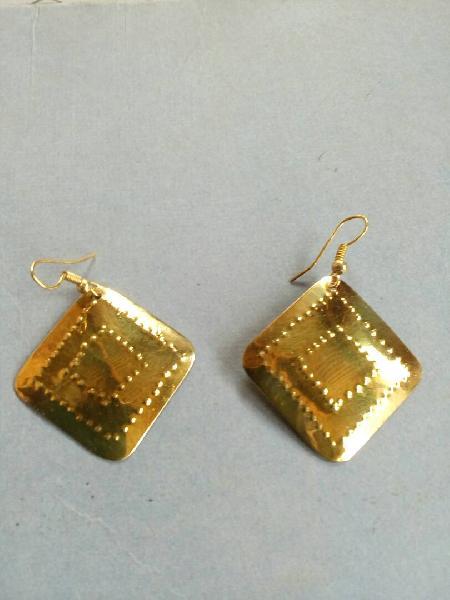 Brass Earrings 05