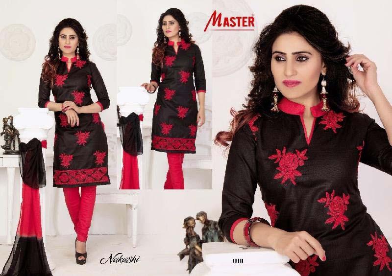 Cotton Unstitched Churidar Suits 01