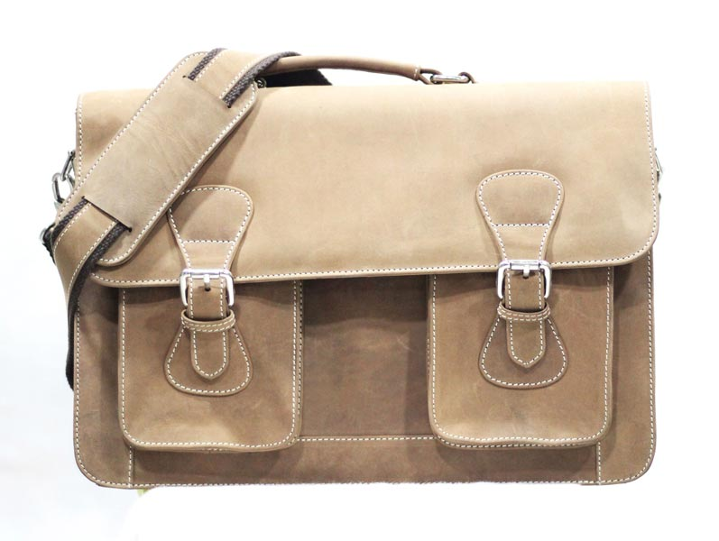 Nubuck Laptop Bag