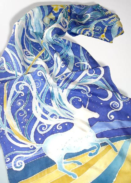 Hand Printed Scarf 11