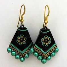 Terracotta Earrings (AT-1034)