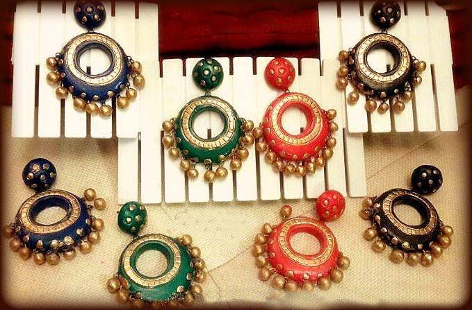 Terracotta Earrings (AT-1041)