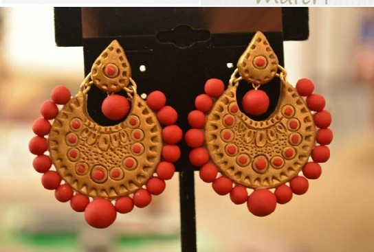 Terracotta Earrings (AT-1042)