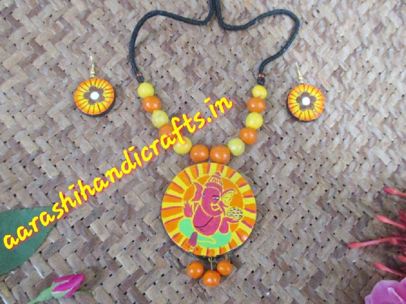 Terracotta Necklace Set 01