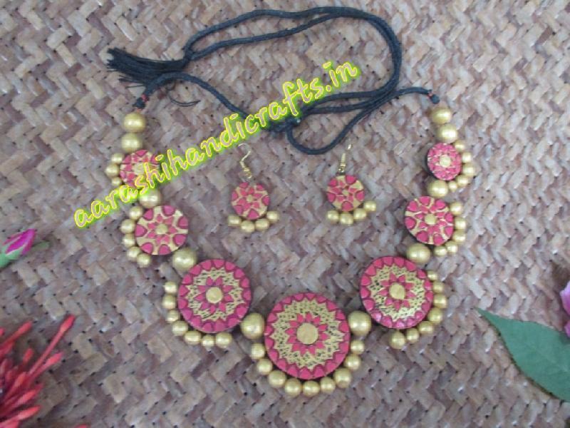 Terracotta Necklace Set 05