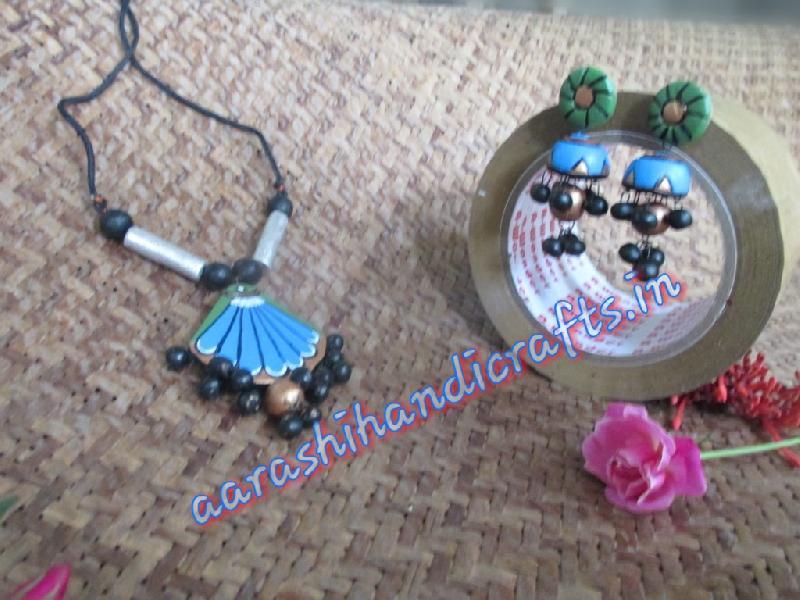 Terracotta Necklace Set 07