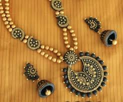 Terracotta Necklace Set (AT-1069)
