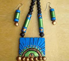 Terracotta Necklace Set (AT-1073)