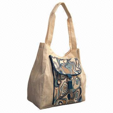 Women Jute Hand Bag 02
