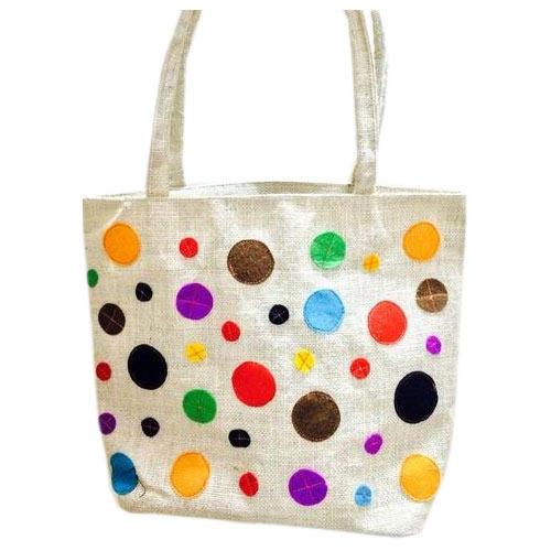 Women Jute Hand Bag 04