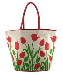 Women Jute Hand Bag 06