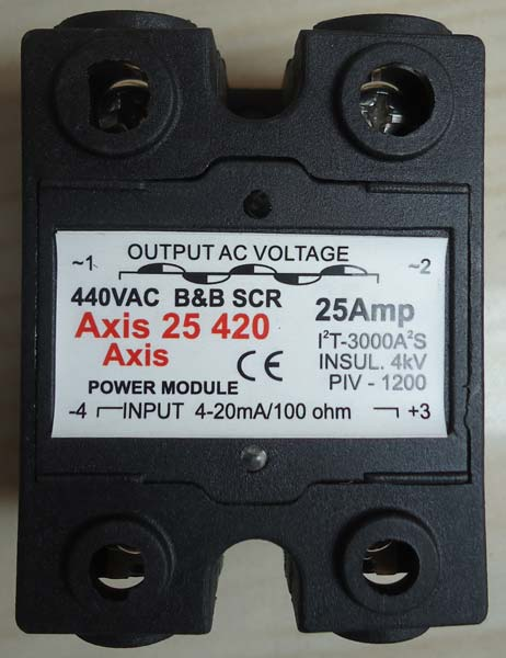 4- 20 mA Double Phase Solid State Relays
