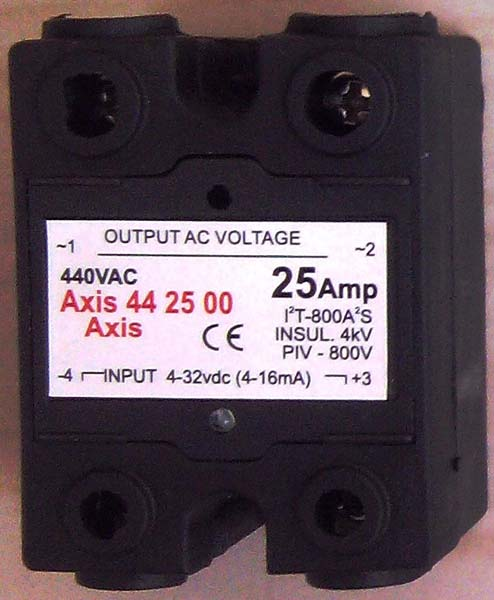 Axis 44 Series Double Phase Solid State Relays