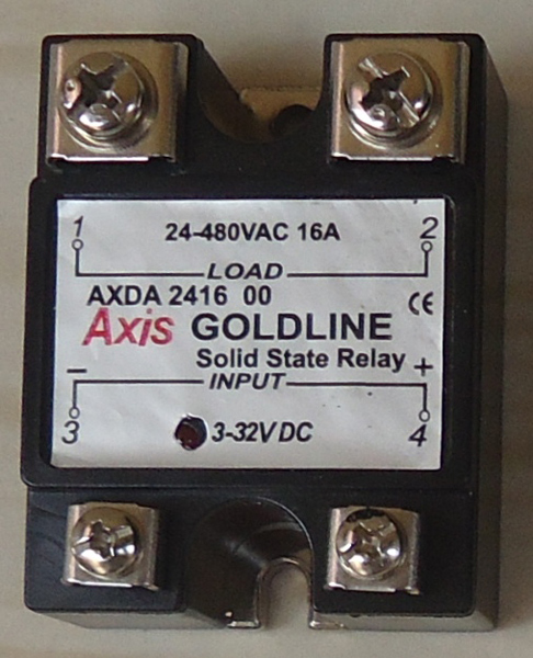 Axis Goldline Series Single Phase Solid State Relays