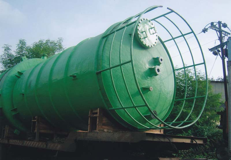 FRP Storage Tank,Spiral Horizontal FRP Storage Tank,FRP