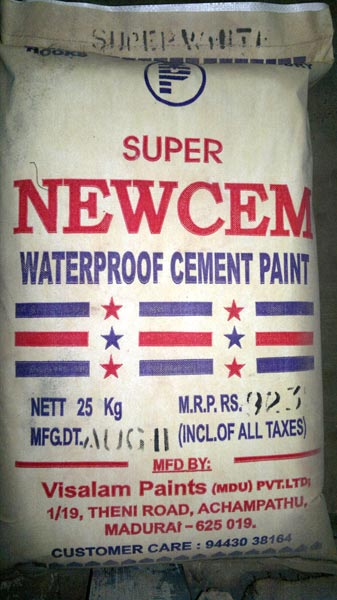 Waterproofing Cement Paint Water Based Cement Primer