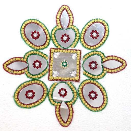 Mirror Rangoli