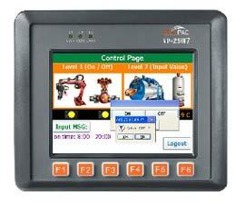 ISaGRAF Embedded Controller (VP-2xW7)