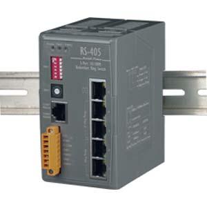 Redundant Ethernet Switch (RS-405)