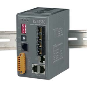 Redundant Ethernet Switch (RS-405FC)