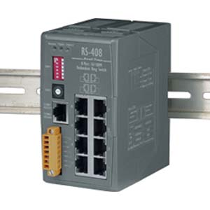 Redundant Ethernet Switch (RS-408)