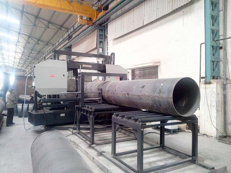 Automatic Double Column Bandsaw Machine (ACS-DFA-MITRE)