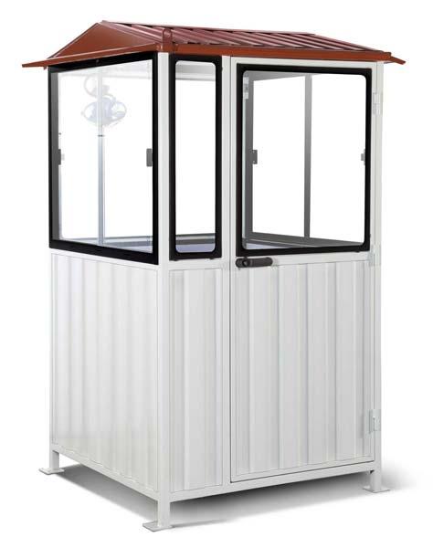 Guard Cabin 4x4x8