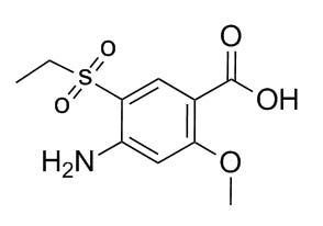 4-Amino-5-Ethylsulfonyl-2-MethoxyBenzoic Acid