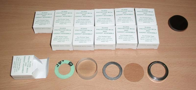 Boiler Gauge Glass Kit